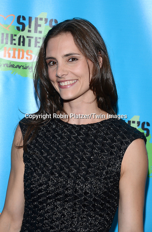 Leslie Ziff attends Rosie O'Donnell's 11th Annual Rosie's Theater Kids Gala on September 22, 2014 at The New York Marriott Marquis in New York City. <br /> <br /> photo by Robin Platzer/Twin Images<br />  <br /> phone number 212-935-0770