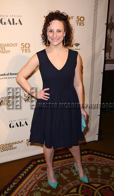 Tracee Chimo attends the Roundabout Theatre Company's  50th Anniversary Gala at The Waldorf-Astoria on February 29, 2016 in New York City.