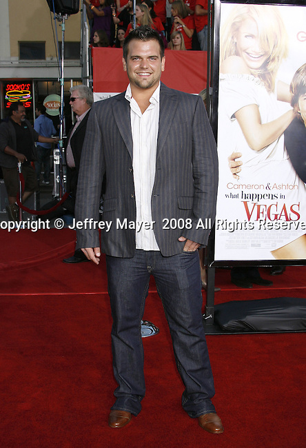 "Ryan Quicksall arrives at the Premiere Of Fox's ""What Happens In Vegas"" on May 1, 2008 at the Mann Village Theatre in Los Angeles, California."