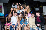 Double 18th Birthday party for Jamie and Sarah Healy from Monavalley, Tralee celebrating with friends at the Abbey Inn on Saturday