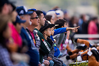 ARCADIA, CA - DECEMBER 26: Scenes from opening day at Santa Anita Park on December 26, 2017 in Arcadia, California. (Photo by Alex Evers/Eclipse Sportswire/Getty Images)