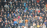Blackpool fans watch their team in action <br /> <br /> Photographer Kevin Barnes/CameraSport<br /> <br /> The EFL Sky Bet League One - Blackpool v Plymouth Argyle - Saturday 30th March 2019 - Bloomfield Road - Blackpool<br /> <br /> World Copyright © 2019 CameraSport. All rights reserved. 43 Linden Ave. Countesthorpe. Leicester. England. LE8 5PG - Tel: +44 (0) 116 277 4147 - admin@camerasport.com - www.camerasport.com