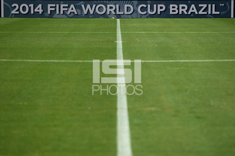 2014 FIFA World Cup Brazil sign at the Arena da Amazonia