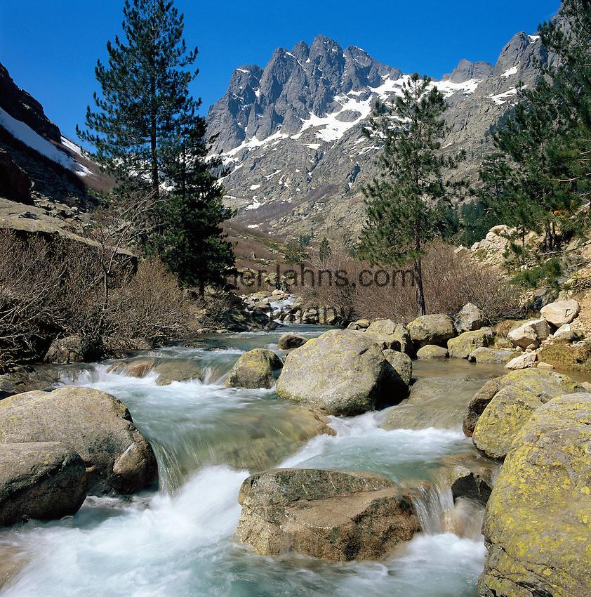 France, Corsica: Restonica Gorge | Frankreich, Korsika: das Restonica-Tal