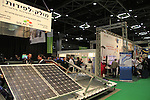 Israel, Tel Aviv-Yafo, CleanTech 2013 exhibition is the 17th annual international event for Clean Technologies: environmental quality, green building, renewable energy and water technologies.
