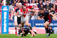 Picture by Alex Whitehead/SWpix.com - 30/03/2018 - Rugby League - Betfred Super League - St Helens v Wigan Warriors - Totally Wicked Stadium, St Helens, England - St Helens' James Roby makes a break.