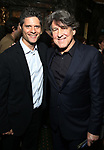 """Tom Kitt and Cameron Crowe attend the Broadway Opening Night performance of """"Sea Wall / A Life"""" at the Hudson Theatre on August 08, 2019 in New York City."""