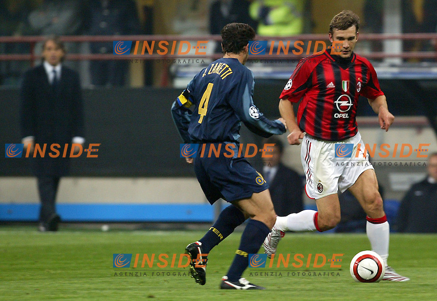 Milano 12/4/2005 Champions League Quarter finals 2nd leg<br />