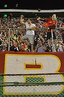 SÃO PAULO,SP, 17.10.2015 - PORTUGUESA-VILA NOVA - Torcida da Portuguesa  durante partida Portuguesa x Vila Nova (GO), jogo válido pelas quartas de final do Campeonato Brasileiro 2015 - Série C, no estádio do Canindé em São Paulo (SP), neste sabado, 17. (Foto: Levi Bianco / Brazil Photo Press)