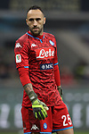 David Ospina of Napoli during the Coppa Italia match at Giuseppe Meazza, Milan. Picture date: 12th February 2020. Picture credit should read: Jonathan Moscrop/Sportimage
