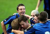 100725 Chatham Cup Football - Miramar v Wellington Utd