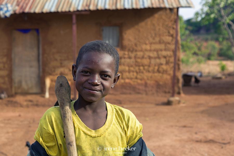 Boy from Kajuru, North-western Nigeria.