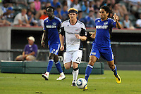 Stephane Auvray...Kansas City Wizards defeated New England Revolution 4-1 at Community America Ballpark, Kansas City, Kansas.