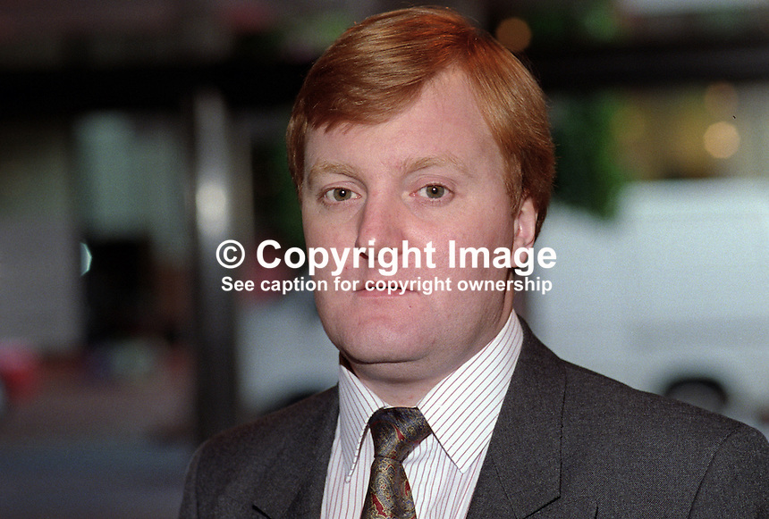 Charles Kennedy, MP, Liberal Democrat Party, UK, 19920902CK<br />