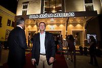 RIO DE JANEIRO, RJ, 11.12.2014 - REINAUGURAÇÃO DA SALA CECÍLIA MEIRELES - O Prefeito da Cidade do Rio de Janeiro, Eduardo Paes, durante a reinauguração da Sala Cecília Meireles, nesta quinta-feira, 11, na Lapa, centro da cidade. A sala de concertos passou por uma grande reforma ao longo dos últimos quatro anos. (Foto: Gustavo Serebrenick / Brazil Photo Press)