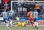 19.05.2019 Kilmarnock v Rangers: Eamonn Brophy scores past sub keeper Andy Firth