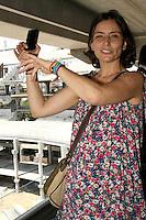 ATENCAO EDITOR: FOTO EMBARGADA PARA VEICULOS INTERNACIONAIS, SP - SÃO PAULO, 04 DE OUTUBRO 2012 - ELEICOES 2012 - SONINHA FRANCINE - A canditada do PPS a prefeitura de Sao Paulo, Soninha Francine em companhia de Arnaldo Tirone, presidente do Palmeiras, visita  obras da nova Arena do Palestra, na tarde dessa quinta, 04,  zona oeste da capital - FOTO LOLA OLIVEIRA-BRAZIL PHOTO PRESS
