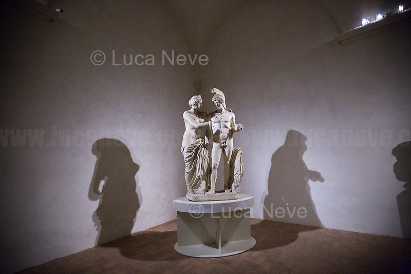 Rome, 10/03/2019. Visiting and documenting le Terme Di Diocleziano (the Bath Of Diocletian) part of the Museo Nazionale Romano (National Roman Museum, 1.).<br />