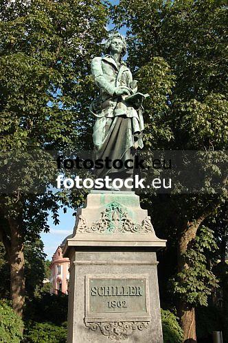 Statue of Friedrich von Schiller, german poet and dramatist (1759-1805), in Mainz, Rheinland Pfalz, Germany<br /> <br /> Monumento a Friedrich von Schiller, poeta y dramaturgo alem&aacute;n (1759-1805), en Maguncia, Rheinland-Pfalz, Alemania<br /> <br /> Denkmal f&uuml;r Friedrich von Schiller, deutscher Dichter und Dramatiker (1759-1805), in Mainz, Rheinland-Pfalz, Deutschland<br /> <br /> orig.: 3008 x 2000 px<br /> 150 dpi: 50,94 x 33,87 cm<br /> 300 dpi: 25,47 x 16,93 cm