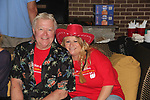 Guiding Light's Michael O'Leary hosts the 2nd Annual Bauer Barbeque  with trivia contests, Family Feud contest, photos, autographs, Q & A on October 8, 2017 - a part of the Guiding Light Daytime Stars and Strikes for Autism weekend at the Residence Inn, Secaucus, New Jersey. (Photo by Sue Coflin/Max Photo)