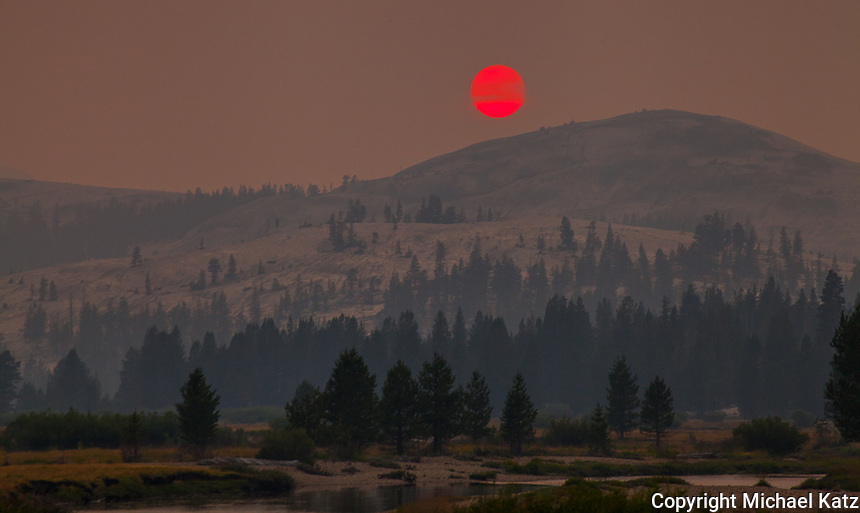 Tuolumne Meadows Smoky Sunset II