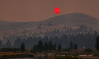 Tuolumne Meadows Smoky Sunset II