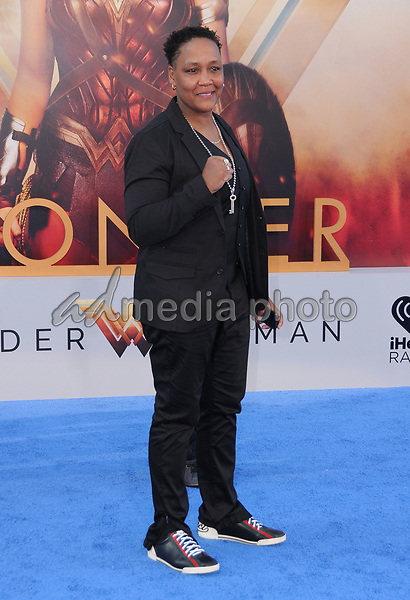 "25 May 2017 - Hollywood, California - Ann Wolfe. World  Premiere of Warner Bros. Pictures'  ""Wonder Woman"" held at The Pantages Theater in Hollywood. Photo Credit: Birdie Thompson/AdMedia"