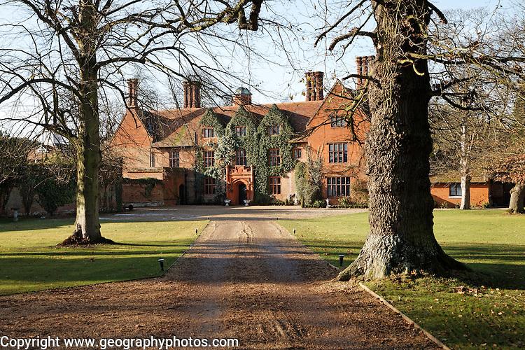 Woodhall Manor, Sutton, Suffolk, England