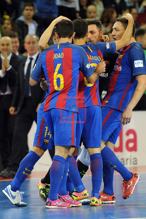 League LNFS 2016/2017 - Game 8.<br /> FC Barcelona Lassa vs ElPozo Murcia: 2-3.