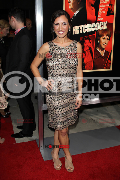 BEVERLY HILLS, CA - NOVEMBER 20: Annika Marks at the premiere of Fox Searchlight Pictures' 'Hitchcock' at the Academy of Motion Picture Arts and Sciences Samuel Goldwyn Theater on November 20, 2012 in Beverly Hills, California. Credit: mpi27/MediaPunch Inc. /NortePhoto