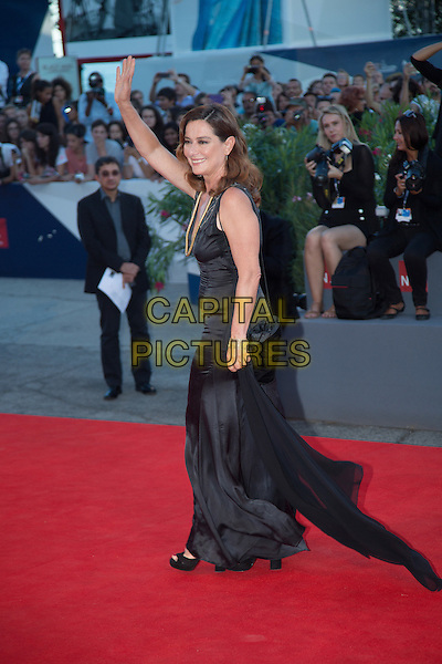 Monica Guerritore at the premiere of A Bigger Splash at the 2015 Venice Film Festival.<br /> September 6, 2015  Venice, Italy<br /> CAP/KA<br /> &copy;Kristina Afanasyeva/Capital Pictures