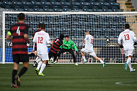 Chester, PA - Sunday December 10, 2017: Bryce Marion, Trey Muse Stanford University defeated Indiana University 1-0 in double overtime during the NCAA 2017 Men's College Cup championship match at Talen Energy Stadium.