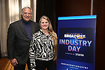 BroadwayHD's Stewart Lane and Bonnie Comley attends Industry Day during Broadwaycon at New York Hilton Midtown on January 11, 2019 in New York City.
