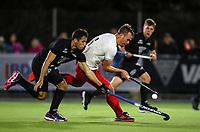 George Muir. International Hockey, Blacksticks men v Canada. Warkworth Hockey Turf, Warkworth, Auckland, New Zealand. Thursday 18 October 2018. Photo: Simon Watts/ Hockey NZ