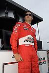 4 August 2007: Sam Hornish, Jr. (USA) at the Firestone Indy 400, Michigan International Speedway, Brooklyn, Michigan