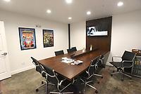 NWA Democrat-Gazette/FLIP PUTTHOFF <br /> A conference room is seen Feb. 5 at Farm Studios.