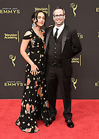 LOS ANGELES - SEPTEMBER 15: Brandon Fayette and Cynthia Mersten attend the 2019 Creative Arts Emmy Awards at the Microsoft Theatre LA Live on September 15, 2019 in Los Angeles, California. (Photo by Scott Kirkland/PictureGroup)