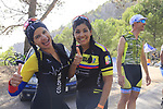Colombian fans on Sierra de la Alfaguara during Stage 4 of the La Vuelta 2018, running 162km from Velez-Malaga to Alfacar, Sierra de la Alfaguara, Andalucia, Spain. 28th August 2018.<br /> Picture: Eoin Clarke   Cyclefile<br /> <br /> <br /> All photos usage must carry mandatory copyright credit (&copy; Cyclefile   Eoin Clarke)