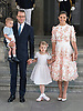 14.07.2017; Stockholm Sweden: CROWN PRINCESS VICTORIA, CROWN PRINCE DANIEL, PRINCESS ESTELLE AND PRINCE OSCAR <br />