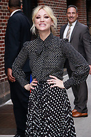 MAY 16 Kaley Cuoco  At The Late Show With Stephen Colbert