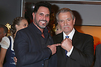 LOS ANGELES - FEB 7:  Don DIamont and Eric Braeden at the Eric Braeden 40th Anniversary Celebration on The Young and The Restless at the Television City on February 7, 2020 in Los Angeles, CA