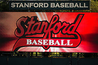 STANFORD, CA - April 19, 2013: Stanford vs Arizona baseball game at Sunken Diamond in Stanford, California. Final score, Stanford 4, Arizona 3.