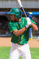 Beloit Snappers third baseman Eric Marinez (2) during a Midwest League game against the Quad Cities River Bandits on June 18, 2017 at Pohlman Field in Beloit, Wisconsin.  Quad Cities defeated Beloit 5-3. (Brad Krause/Krause Sports Photography)