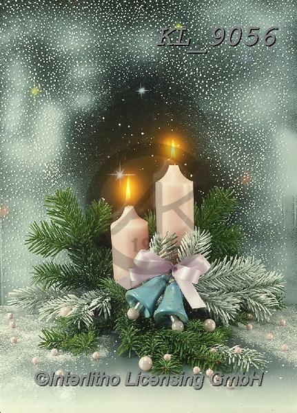 Interlitho-Helga, CHRISTMAS SYMBOLS, WEIHNACHTEN SYMBOLE, NAVIDAD SÍMBOLOS, photos+++++,white candles,KL9056,#xx#