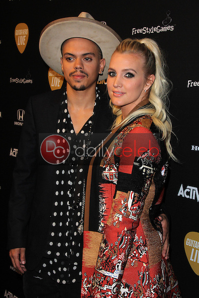 Evan Ross, Ashlee Simpson<br /> at the Guitar Hero Live Launch Party, YouTube Space LA, Los Angeles, CA 10-19-15<br /> David Edwards/Dailyceleb.com 818-249-4998