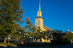 Tromso Domkirke, the only wooden cathedral in Norway, completed in 1861.