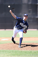 John Barbato - San Diego Padres - 2010 Instructional League.Photo by:  Bill Mitchell/Four Seam Images..