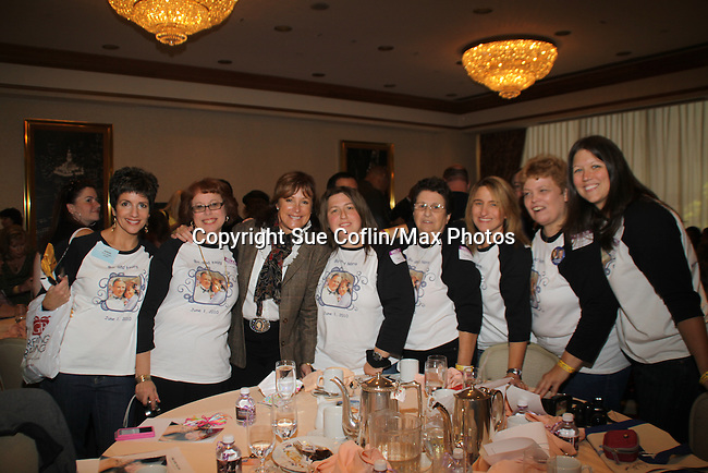 Hillary B. Smith and her fans at The One Life To Live Lucheon at the Hemsley Hotel in New York City, New York on October 9, 2010. (Photo by Sue Coflin/Max Photos)