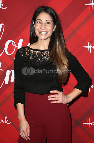 LOS ANGELES, CA - DECEMBER 4: Larissa Wohl, at Screening Of Hallmark Channel's 'Christmas At Holly Lodge' at The Grove in Los Angeles, California on December 4, 2017. Credit: Faye Sadou/MediaPunch