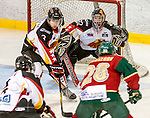 Hockey,Mustangs de Vaudreuil-Dorion Junior AAA contre Sainte-Agathe